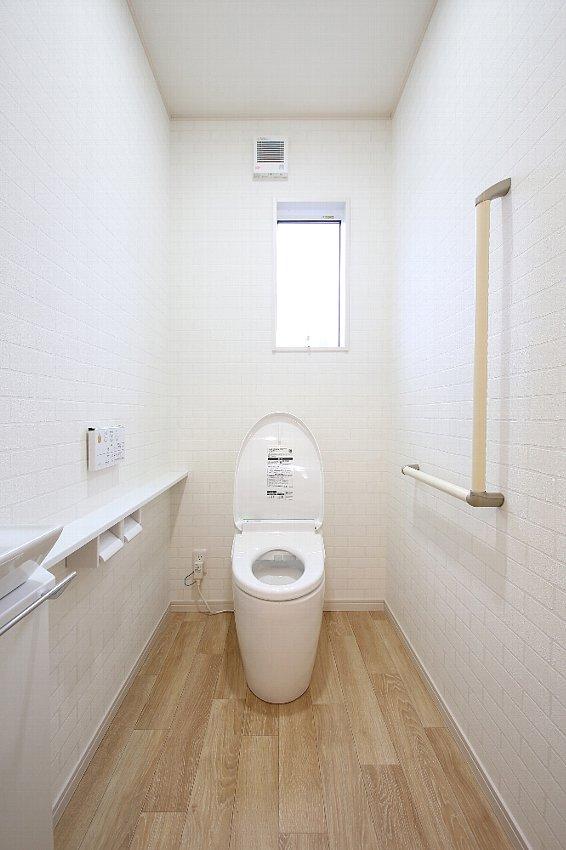 お店のように可愛いトイレ