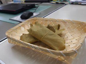 お手製の柏餅