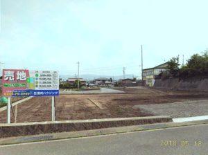 小学校近い、長野県岡谷市長地分譲地 3号地は南道路!